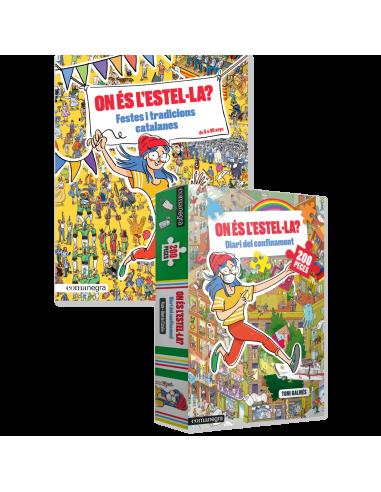 Estel·la de festa + puzle